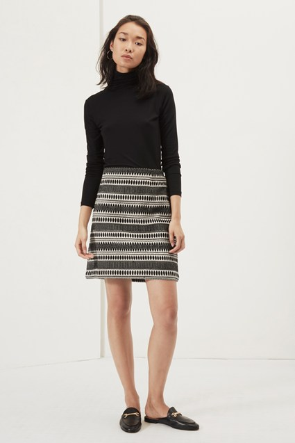 Ula Stitch Mini Skirt
