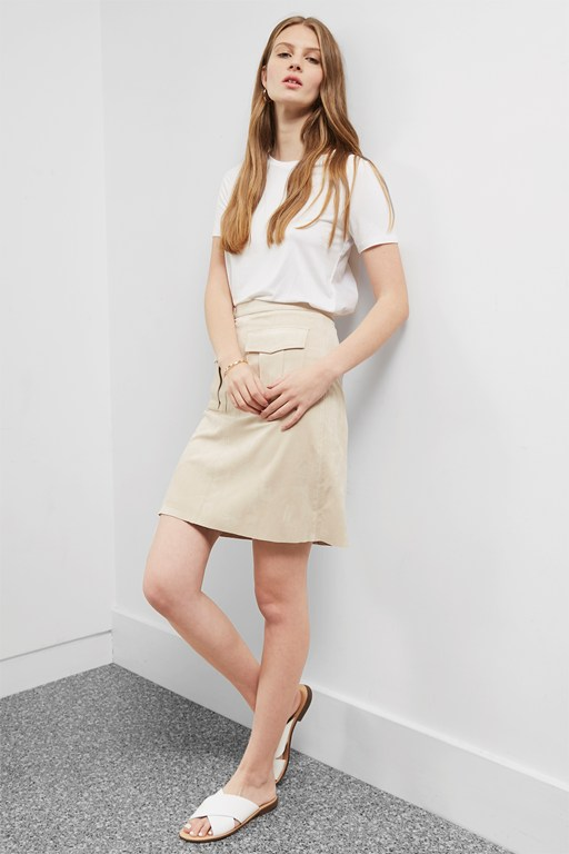 Complete the Look Sian Suedette Mini Skirt