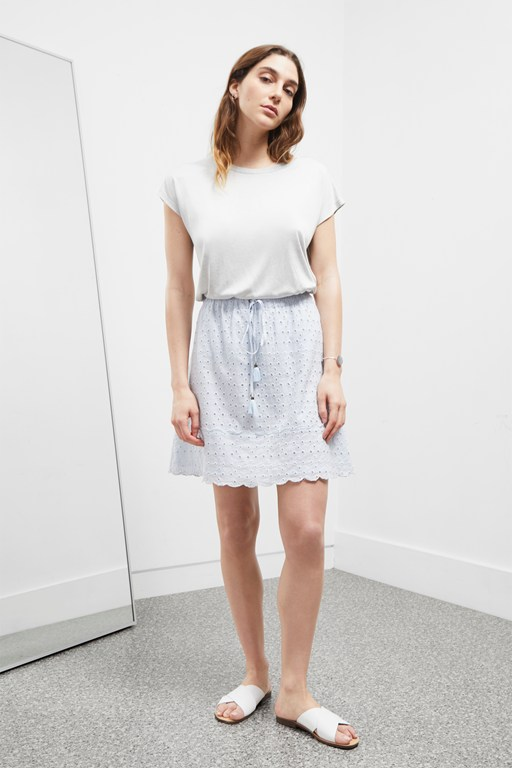 Complete the Look Summer Broderie Anglaise Skirt