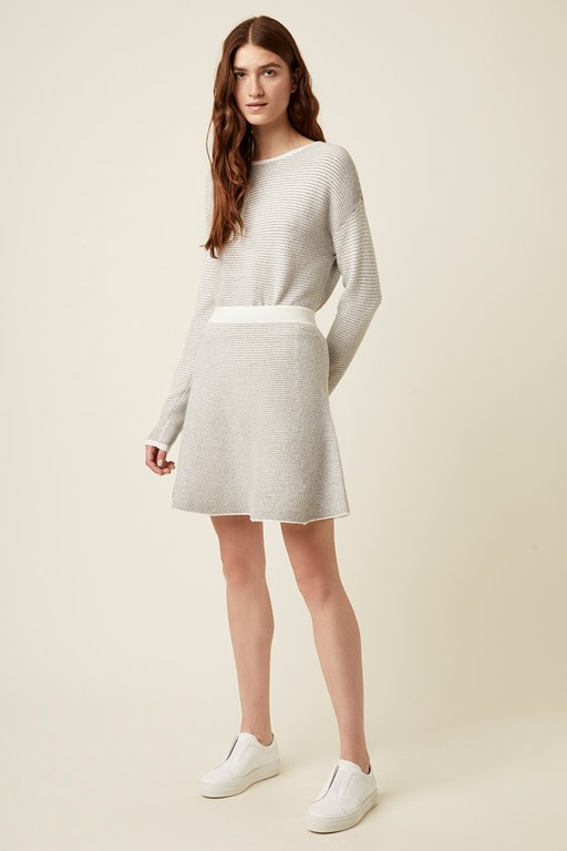 andelle knit skirt