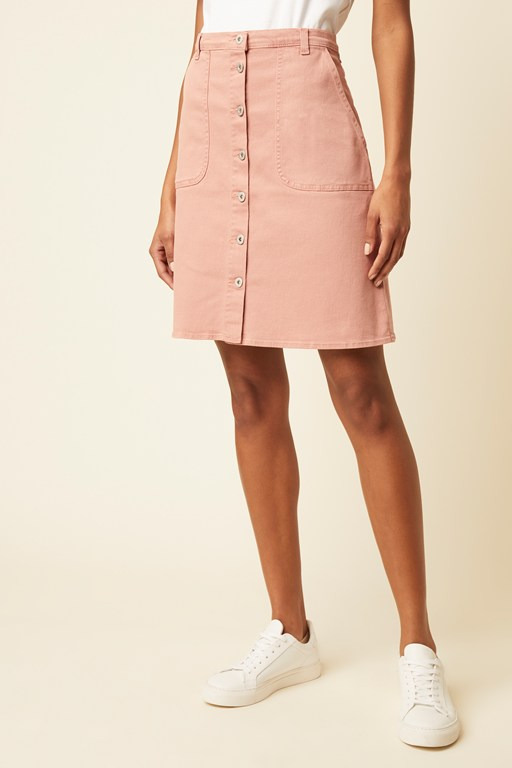 claro denim skirt