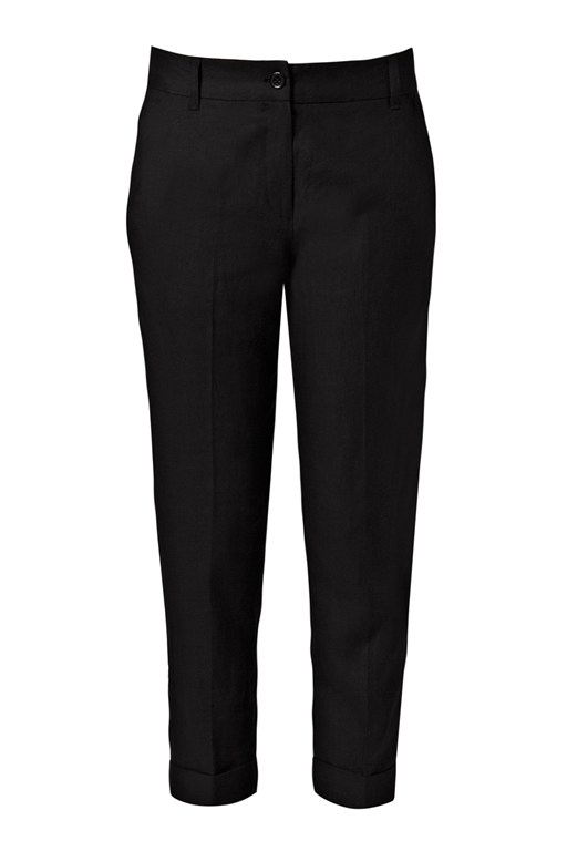 whitby linen trousers