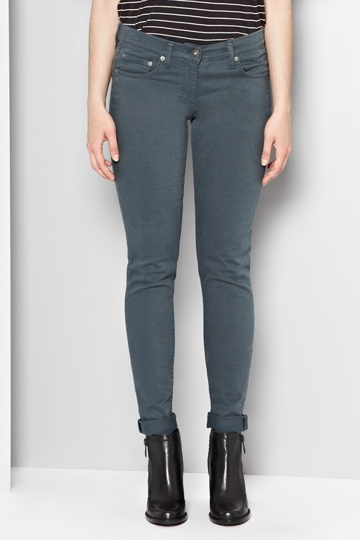 colour pop denim jeans
