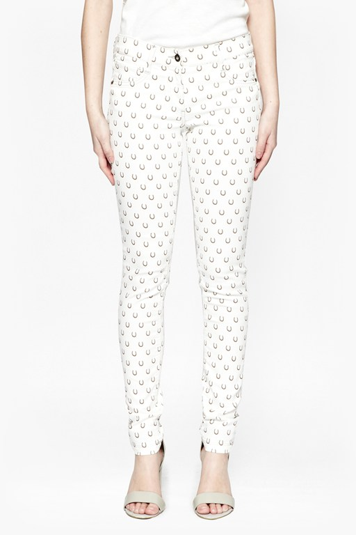 get lucky printed jeans