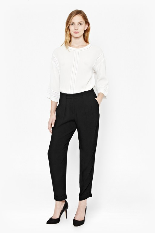 about town tapered trousers