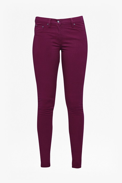 Complete the Look Coloured Skinny Jeans