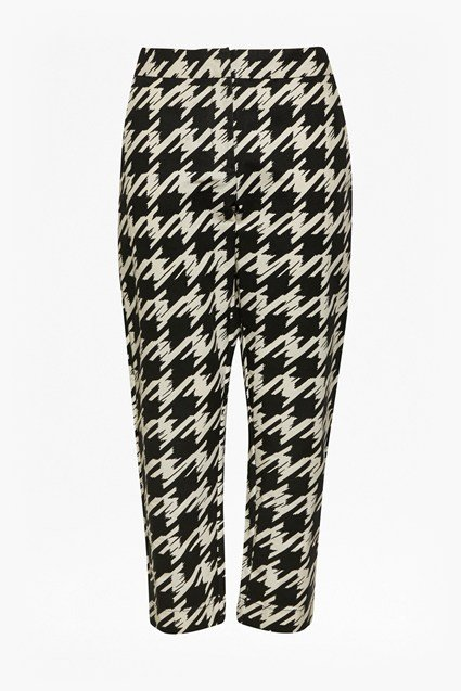 Pistol Check Tapered Trousers