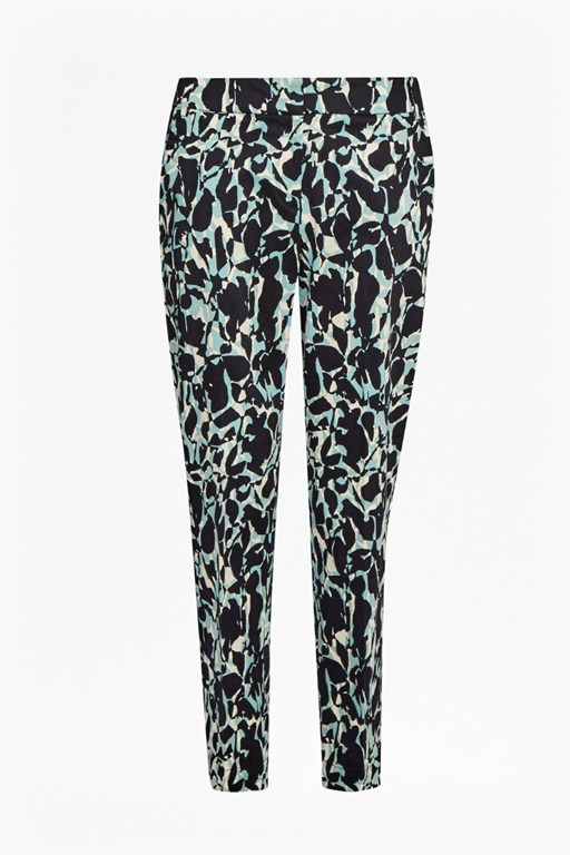silhouette tailored trousers