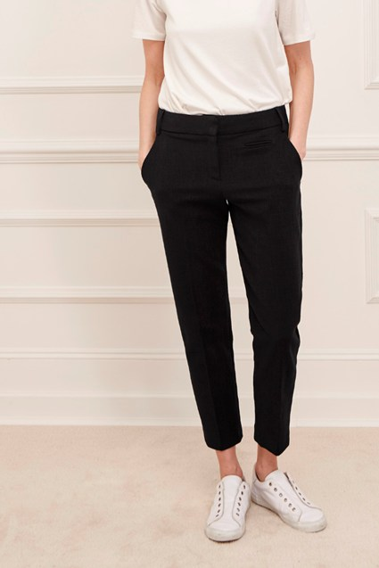 Marsie Textured Jacquard Trousers