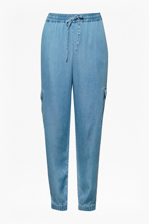 Complete the Look Nairobi Denim Cargo Trousers