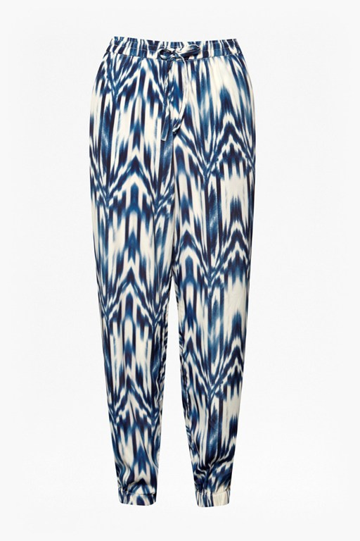 Complete the Look Ashanti Printed Drape Trousers