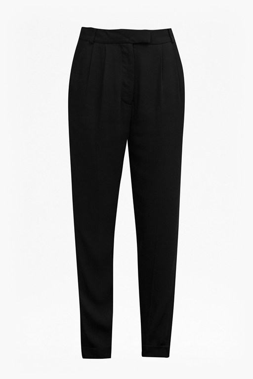 Complete the Look Carmel Crepe Tapered Trousers