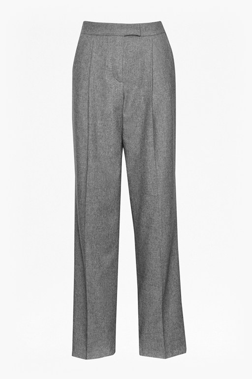 Complete the Look Ida Flannel Wide Leg Trousers