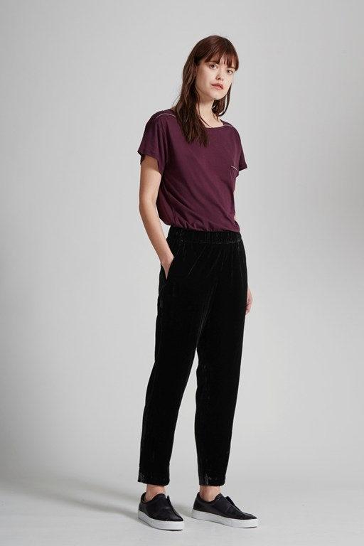 velvet moon jogger trousers