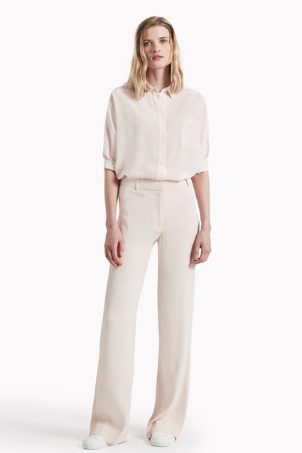 Megan Crepe High Waist Trousers