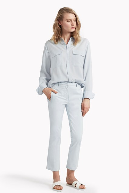 Suki Stretch Crop Flared Trousers