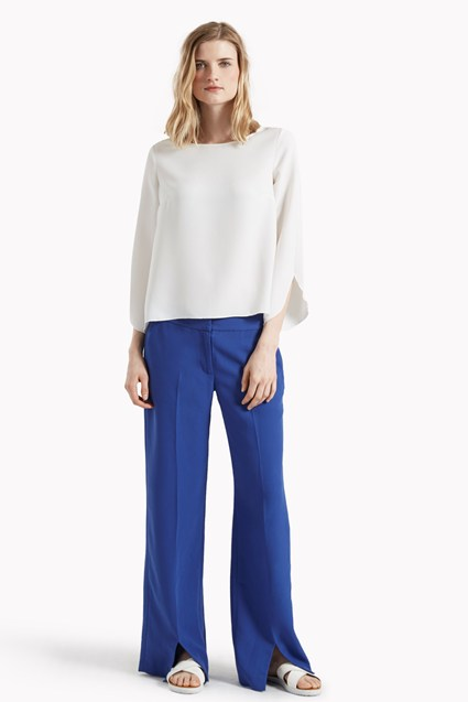 Lola Drape Wide Leg Trousers