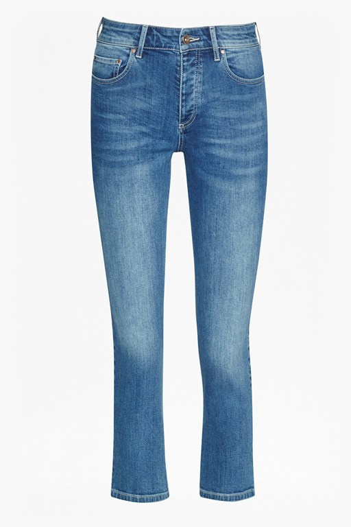 Complete the Look Emily Denim Cropped Jeans