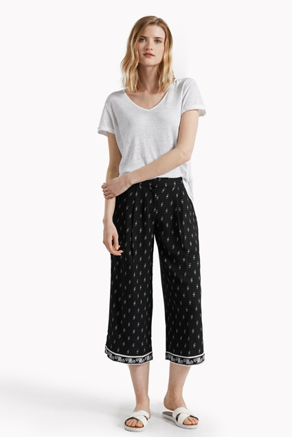 Tune In Printed Culottes