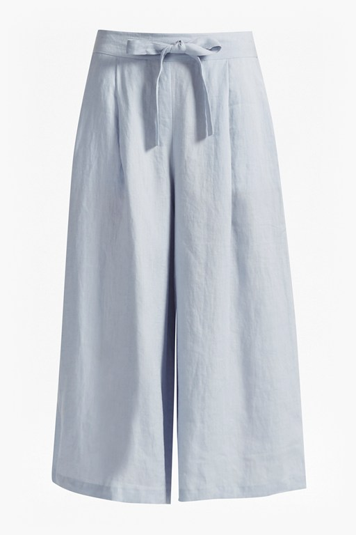 Complete the Look Lindisfarne Linen Wide Leg Trousers