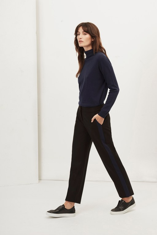 Complete the Look Freya Brushed Contrast Leg Trousers