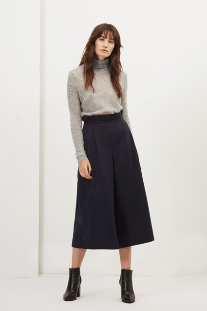 Freya Brushed Wide Leg Culottes