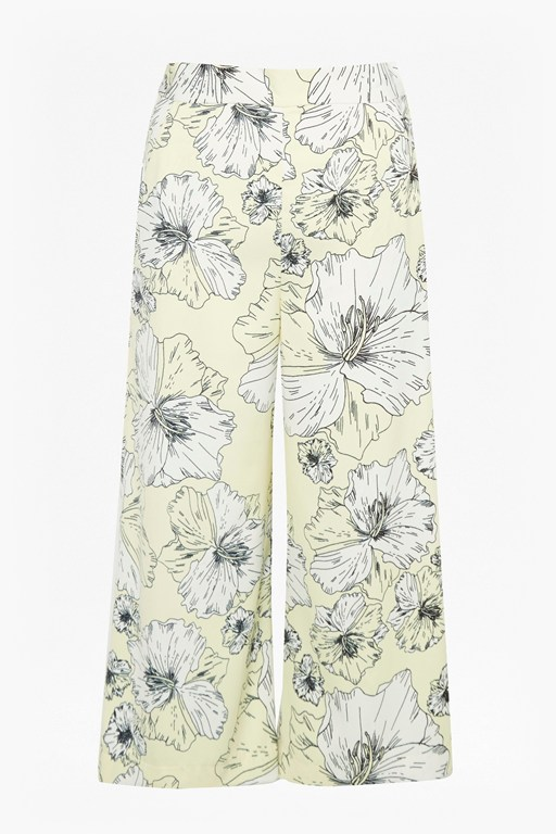 Complete the Look Tropical Flora Culottes