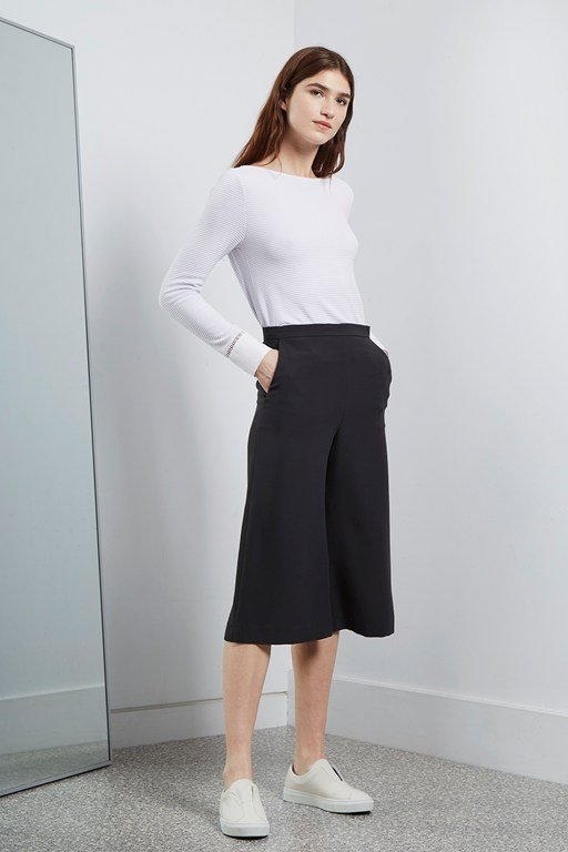 Complete the Look Deana Crepe Culottes