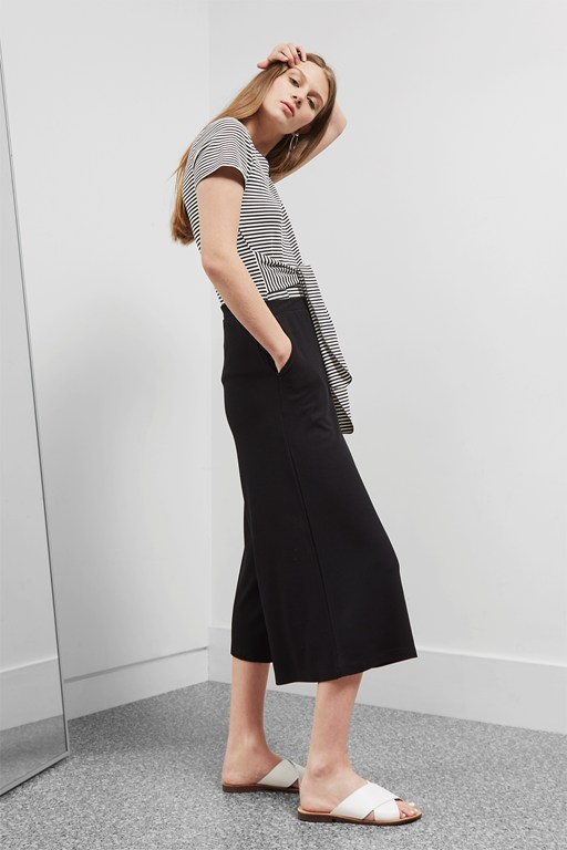 Complete the Look Polly Ponte Culottes