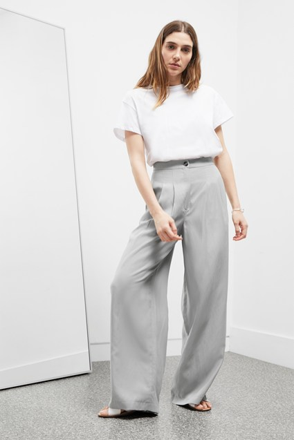 High Summer Tailoring Wide Leg Trousers