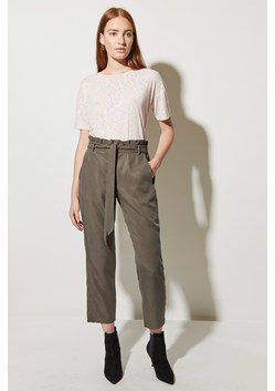 Everyday Luxe Belted Trousers