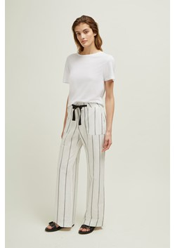 Santa Fe Stripe Wide Trousers