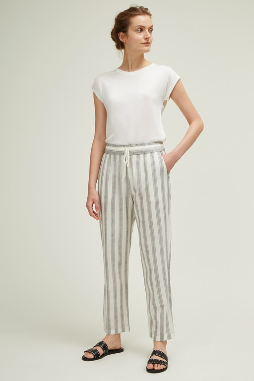 hollywood stripe trousers