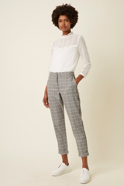 Paradis Check Trousers