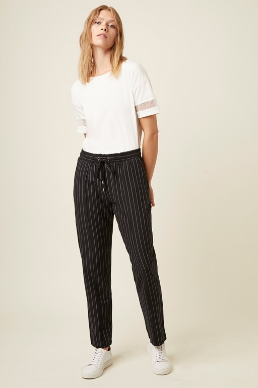marais stripe trousers