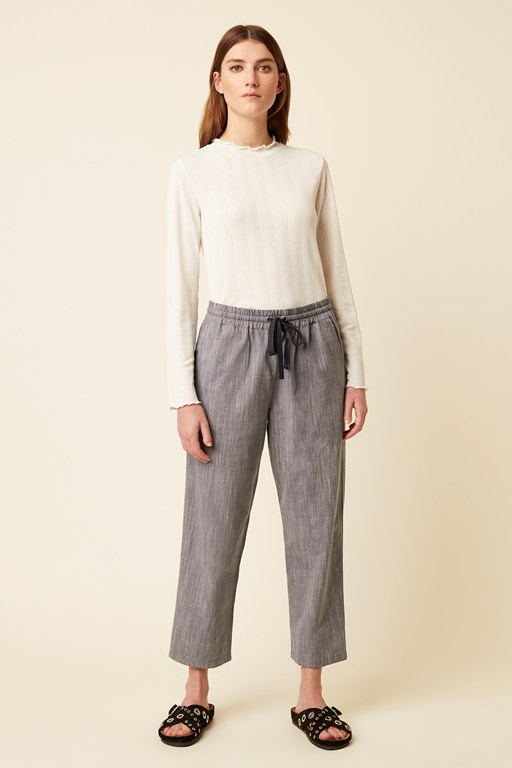 rosa chambray trouser