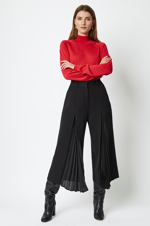 astro tailoring wide leg trousers