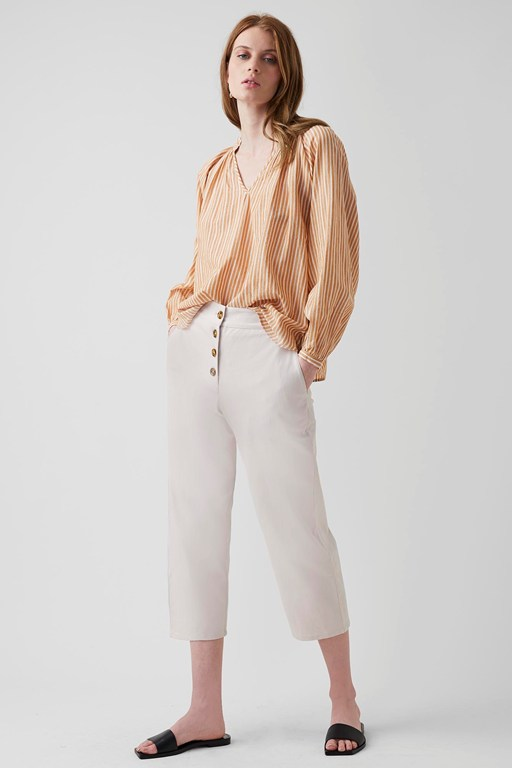 soft cotton trousers