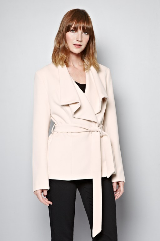 Complete the Look Carla Wrap Jacket