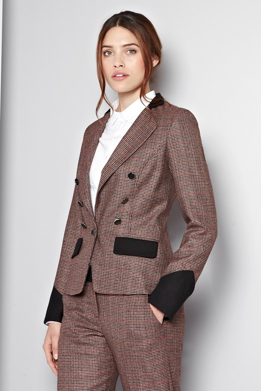 tally ho checked jacket