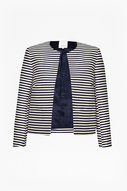 Complete the Look  Bella Breton Stripe Jacket