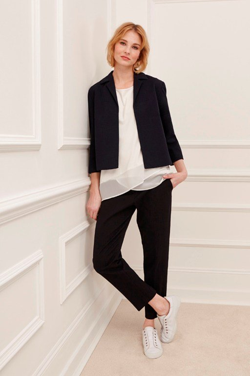 marsie cotton boxy jacket