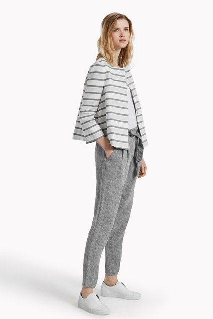 Sofia Stripe Single Button Jacket