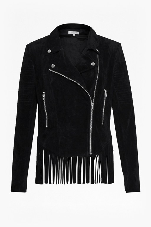 Complete the Look Sienna Suedette Biker Jacket