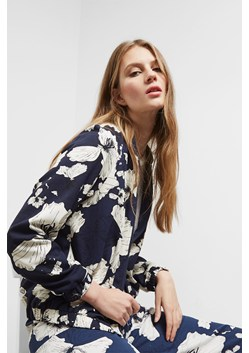 Tropical Flora Bomber Jacket