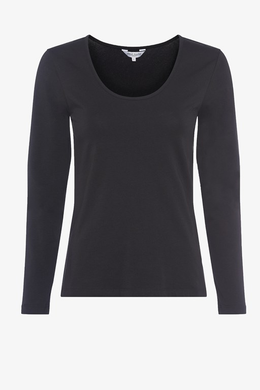 essentials fitted long sleeve top