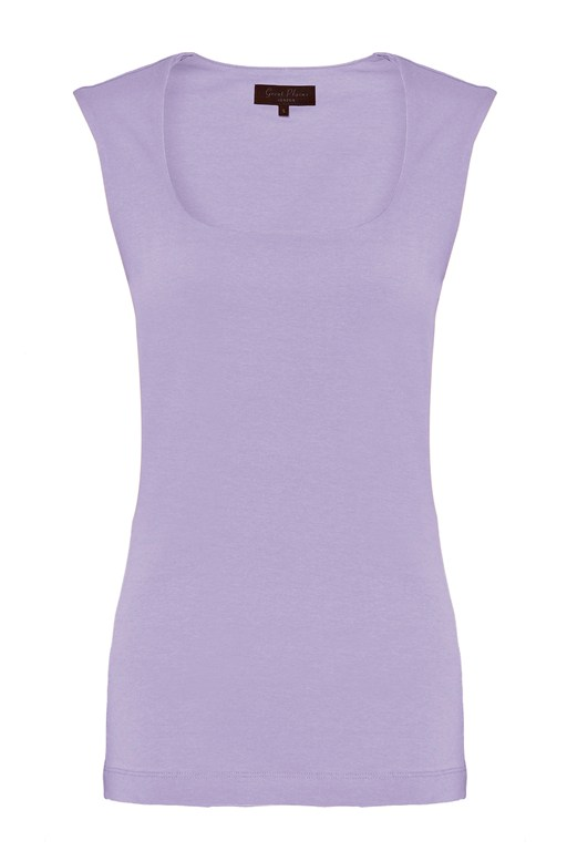 classic stretch cotton top