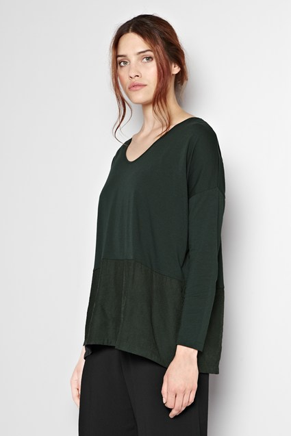 Penelope Mix Slouchy Top