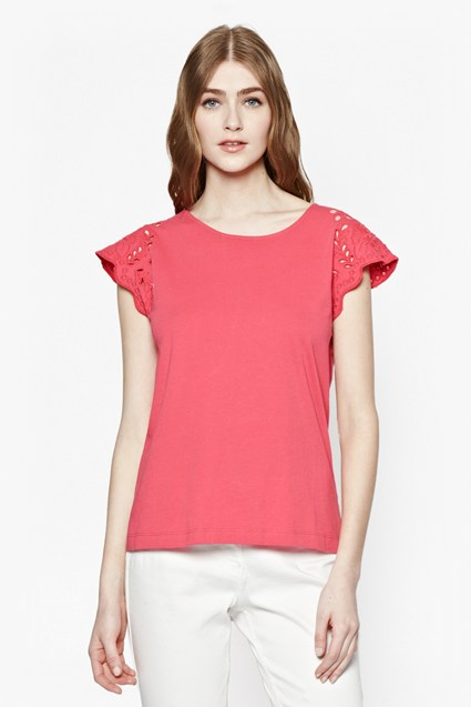 Adriana Cut-Out Sleeve Top