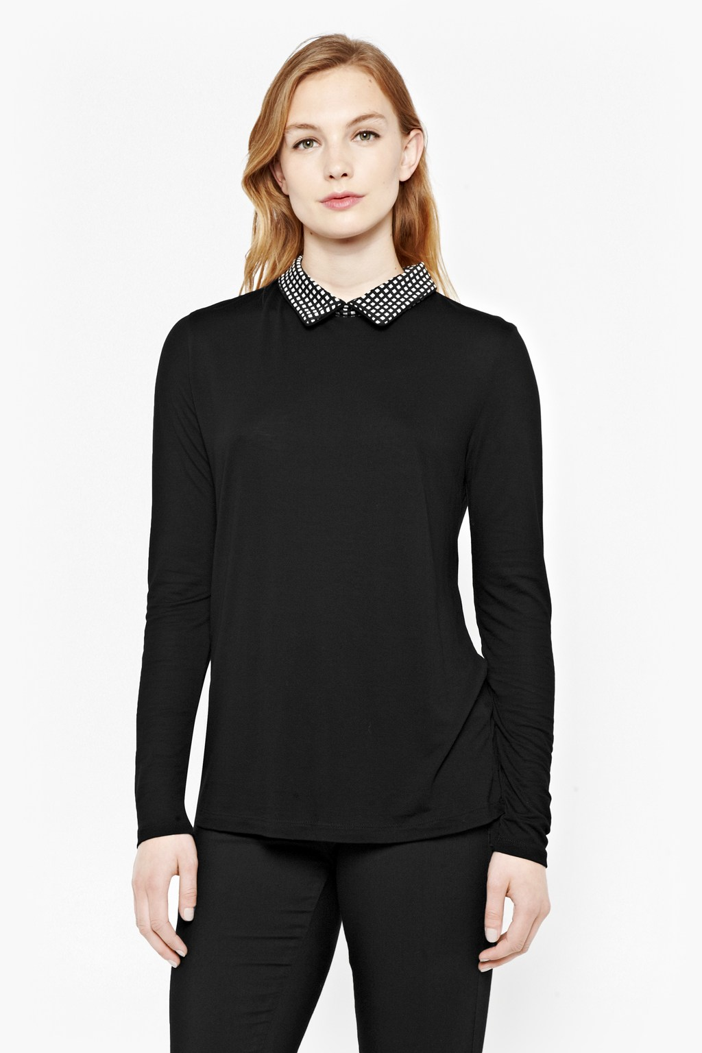 Domino Gingham Shirt Jumper | Women | Great Plains